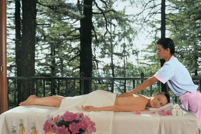 Wildflower Hall Shimla spa