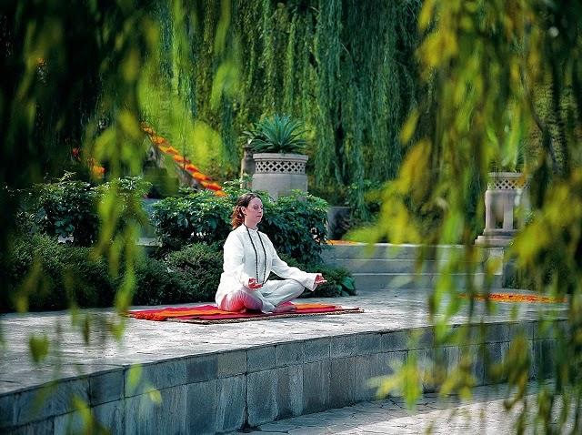 ananda spa meditation