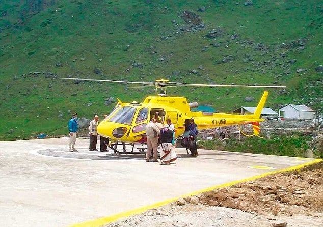 helicopter Kedarnath